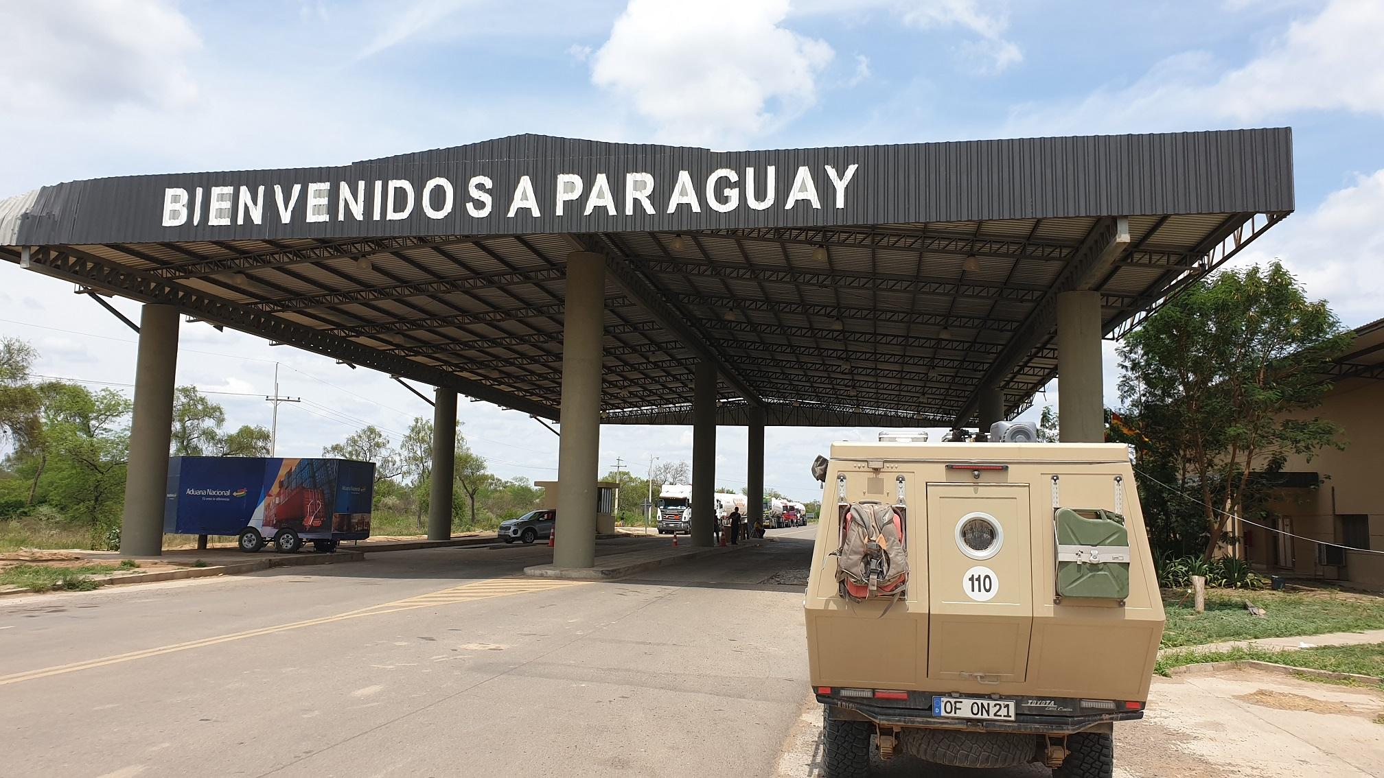 Hasta luego Bolivien II – Hola Paraguay